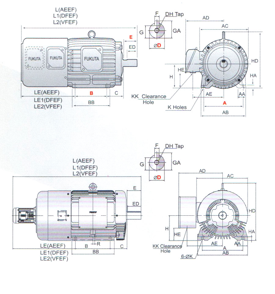 induction motor 40