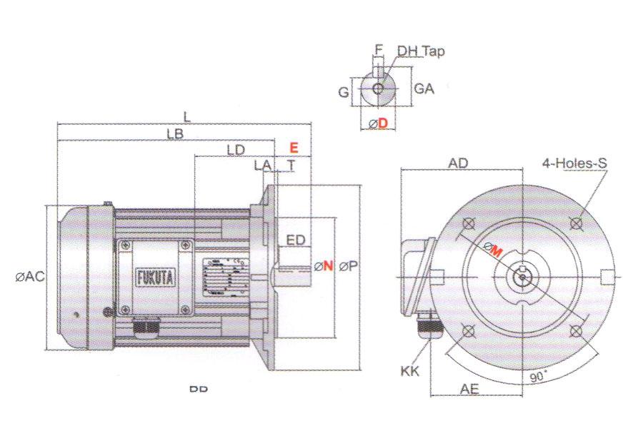 induction motor 40